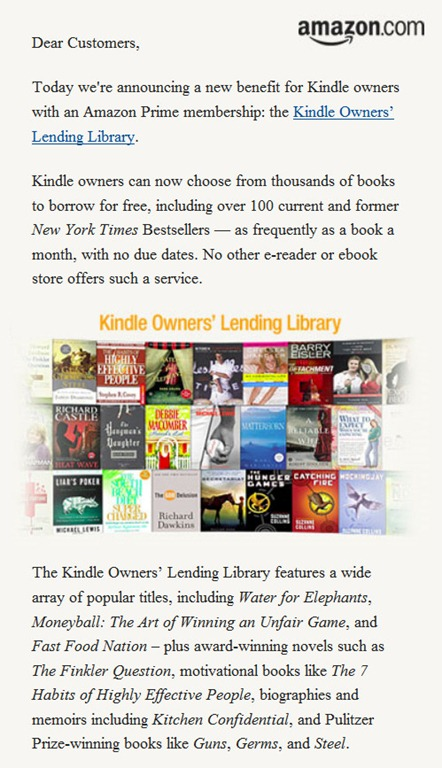 Likes up amazon kindle owners lending library likes up amazon prime fandeluxe Gallery