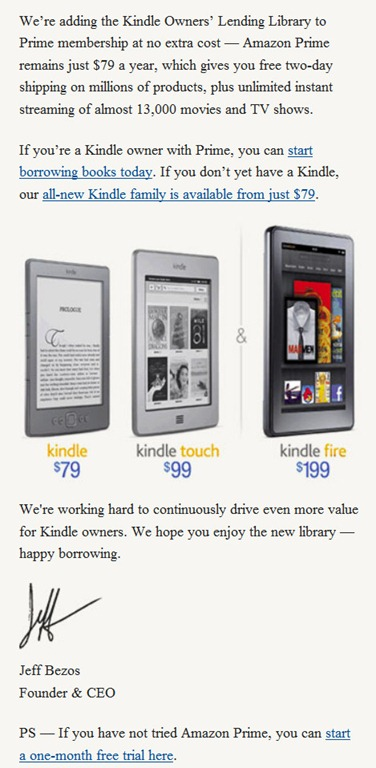 "Likes UP ""Amazon Kindle Owners' Lending Library"" - Likes UP"