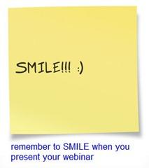 smile-post-it-remember-to-smile-webinar-presenter