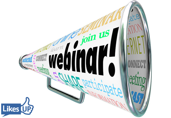 Special Announcement The Webinar Way LikesUp Sherrie Rose