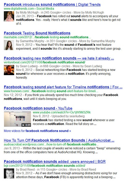 Facebook Notifications with Sound Alert (Turn it off) - Likes UP