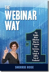 Sherrie Rose, author, The Webinar Way on Amazon