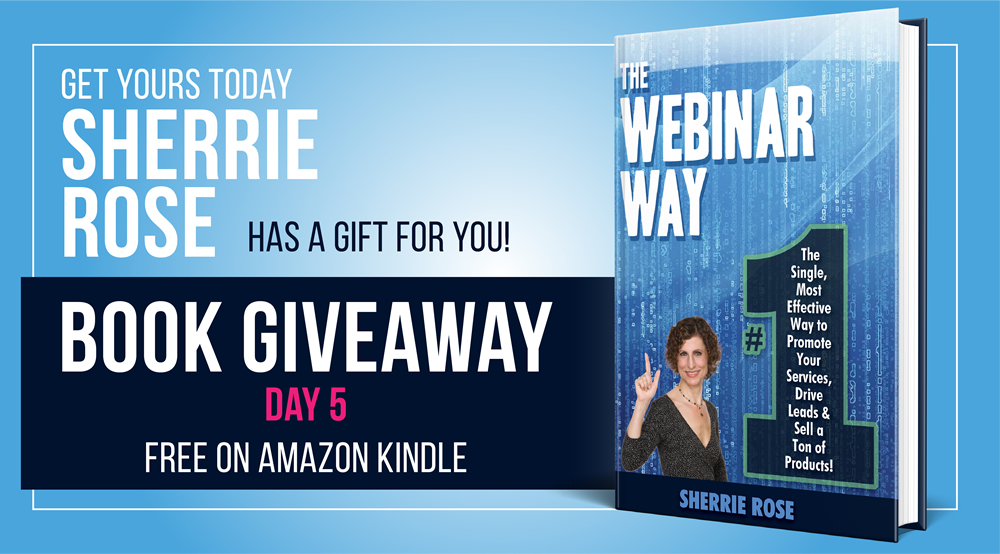 The Webinar Way free giveaway on Amazon Kindle