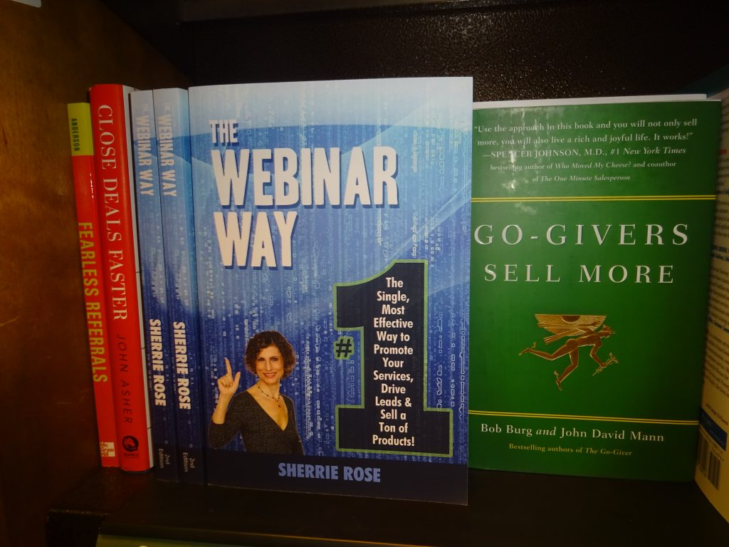 The Webinar Way Sherrie Rose and Go Giver Bob Burg