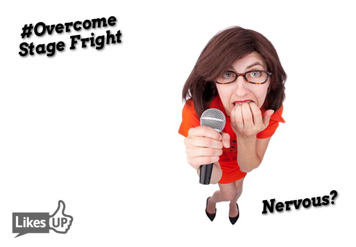 over come stage fright go from nervous to confident The Webinar Way