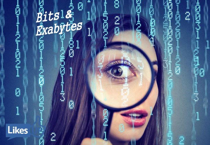 bits bytes exabyte gigabyte likesup Sherrie Rose
