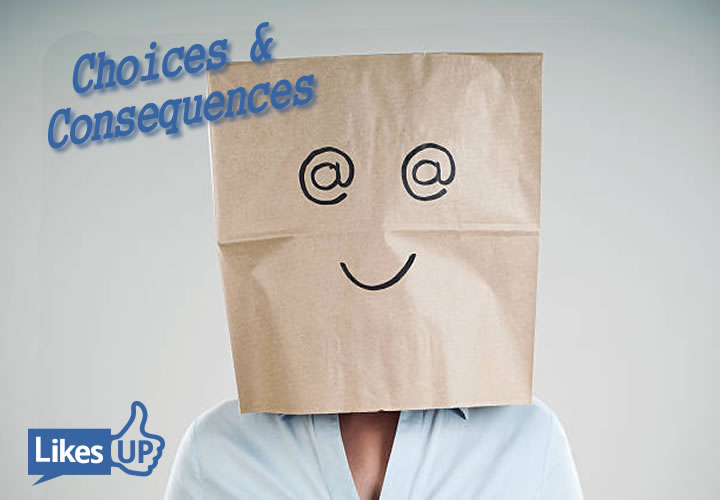 Bag, head, Choices, Consequences, Commitments (and Confessions)